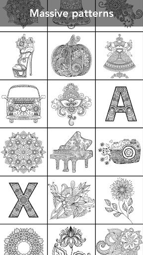 Mandala Coloring Book 3.1.4 screenshots 2