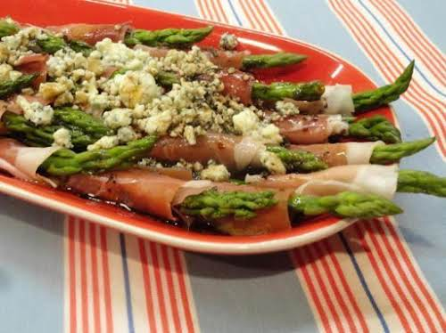 "Click Here for Recipe: Wrapped Asparagus ""Delicious! I have made this recipe..."