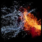 Fire & Water Live Wallpaper