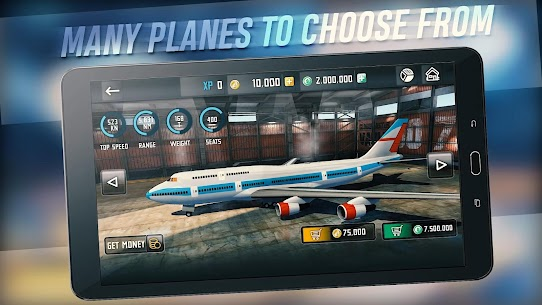 Flight Sim 2018 MOD APK | Flight Sim Unlimited Money APK 1