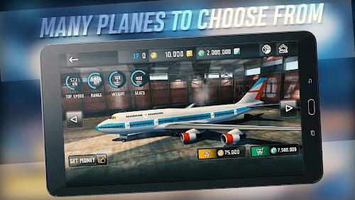 Screenshot 1 Flight Sim 2018 1.2.9 APK+DATA MOD