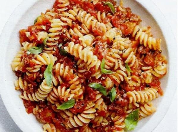 Chunky Tomato Sauce Recipe