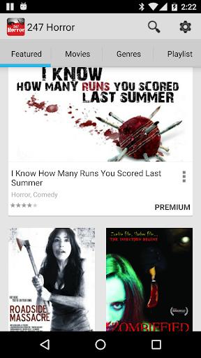 247 Horror Movies 9.8 screenshots 9