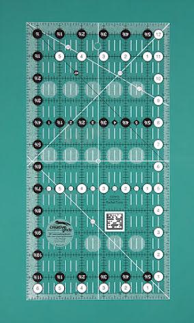 "Linjal, Creative Grids, 6½"" x 12½"" (12016)"