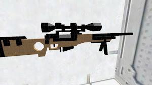 ボルトアクション式銃L96風カスタム