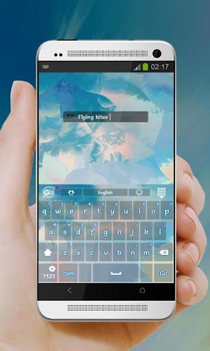 玩免費個人化APP|下載放风筝 GO Keyboard app不用錢|硬是要APP