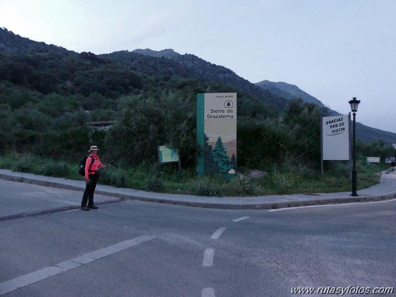 Montejaque - Ventana - Tunio - Palo - Martin Gil - Arenitas - Cortes de la Frontera