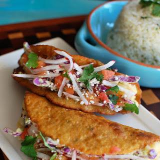 Tacos de Papa {Crispy Potato Tacos}.