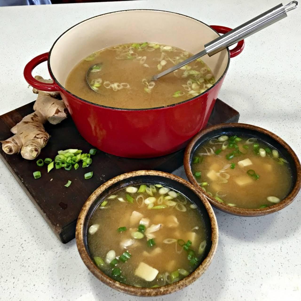 Chicken Miso Soup