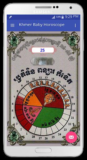 Khmer Baby Horoscope