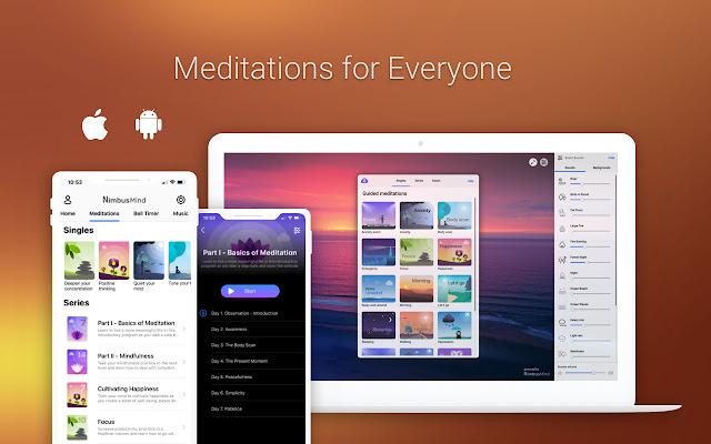 NimbusMind: Meditation, Relax, and Calm