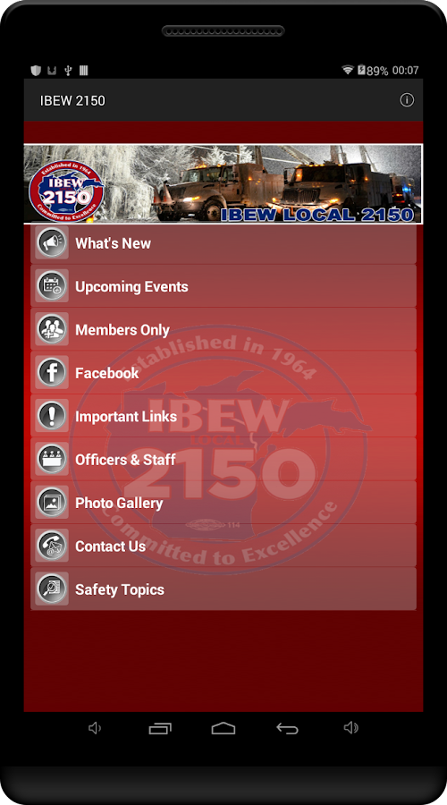 IBEW 2150- screenshot