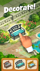 Gardenscapes MOD (Unlimited Coins) 4
