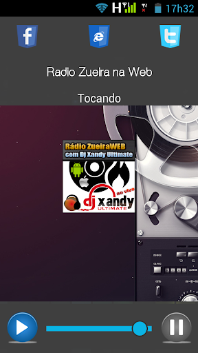 Rádio Zueira na Web screenshot 1