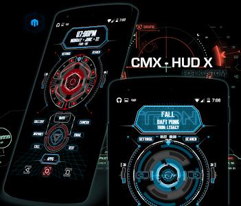 CMX - HUD X for KLWP v1.0