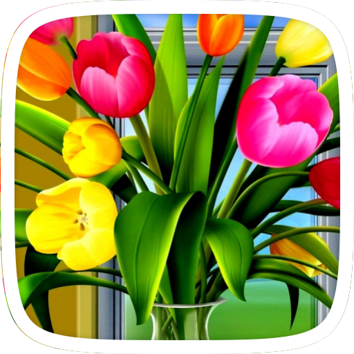 Colorful Tulip Theme