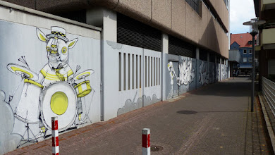 """Photo: """"Stadtbild""""; Projekt IPE und Virtuell-Visuell (2009); ROOKIE THE WEIRD et al."""
