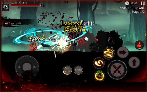 Shadow of Death: Dark Knight - Stickman Fighting  screenshots 16