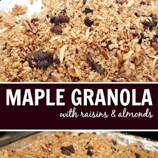 Maple Granola With Raisins (Updated Recipe)
