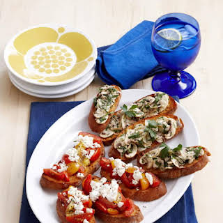 Mix and Match Bruschetta.