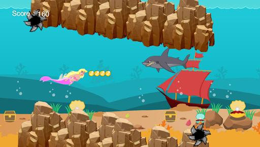 Shark Attack Mermaid