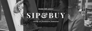 25th Annual Sip & Buy - Twitter Header Template