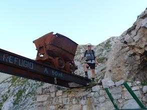 Photo: En las antigüas instalaciones mineras junto al Casetón de Ándara