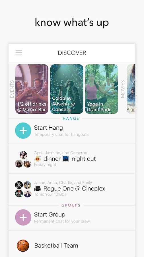 Hang | Join the Now- screenshot