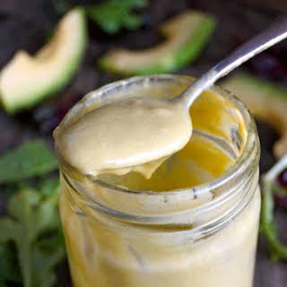 Creamy Lemon-Lime Avocado Salad Dressing.