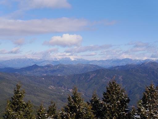 東美濃の山々