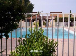 Photo: piscine face studio plein sud