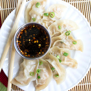 Jiaozi | Pork Dumplings.