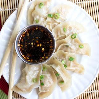 Jiaozi | Pork Dumplings.
