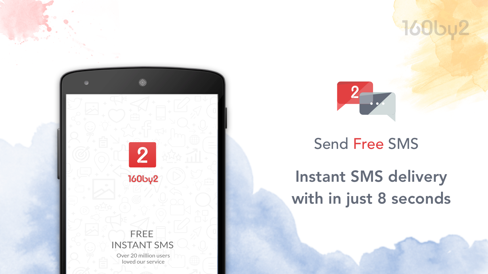 Free SMS by 160by2- screenshot