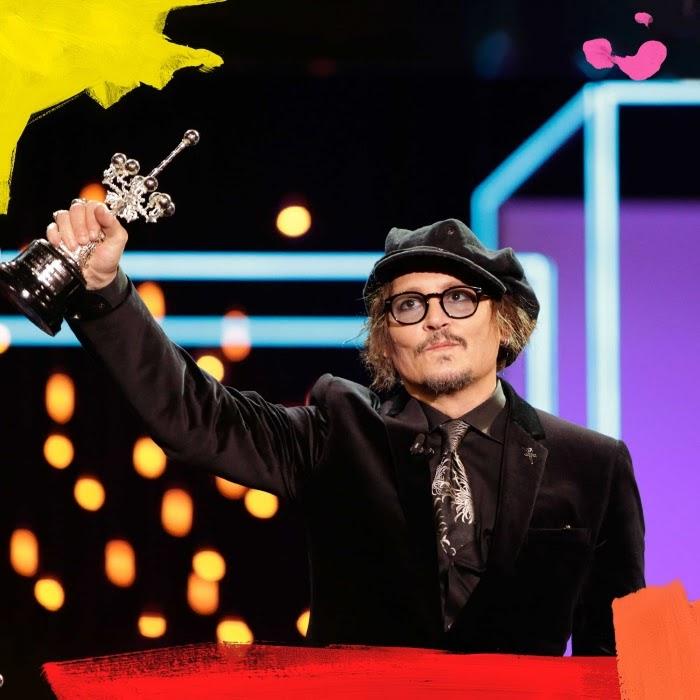 Johnny Depp Premio Donostia