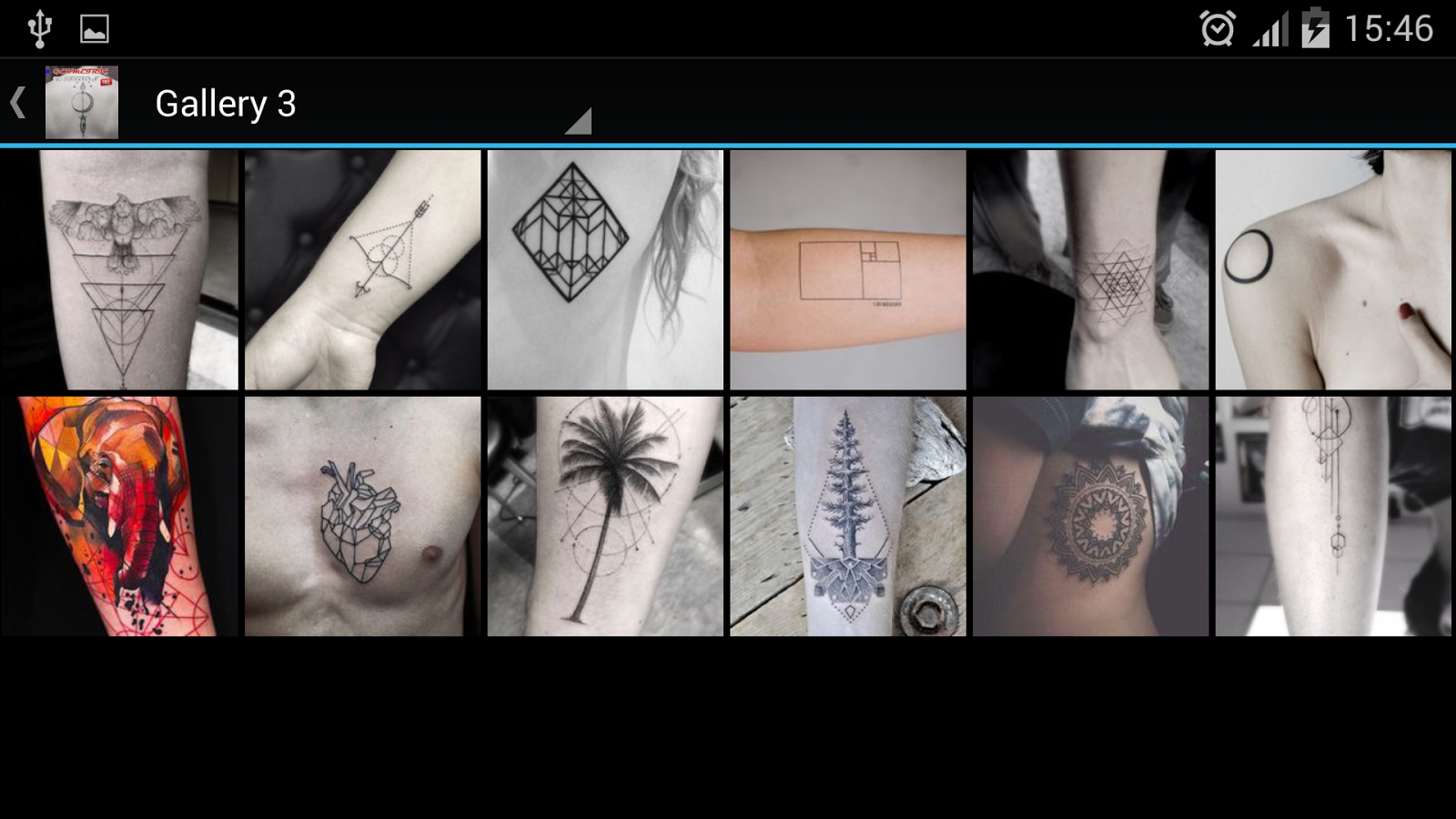 Geometric tattoos android apps on google play for App for tattoos