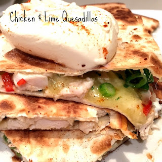Chicken and Lime Quesadillas