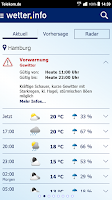 Screenshot of wetter.info