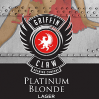 Logo of Griffin Claw Platinum Blonde Lager