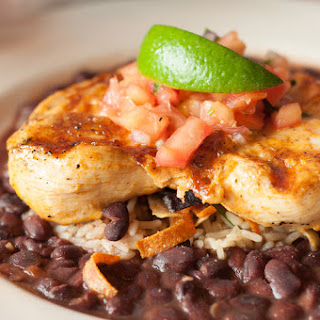 Quick Chicken Dish with Black Beans and Rice