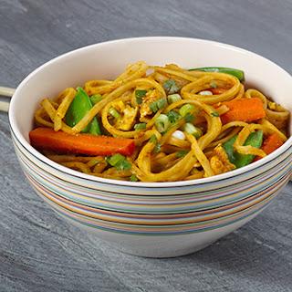 Singapore Rice Noodles.
