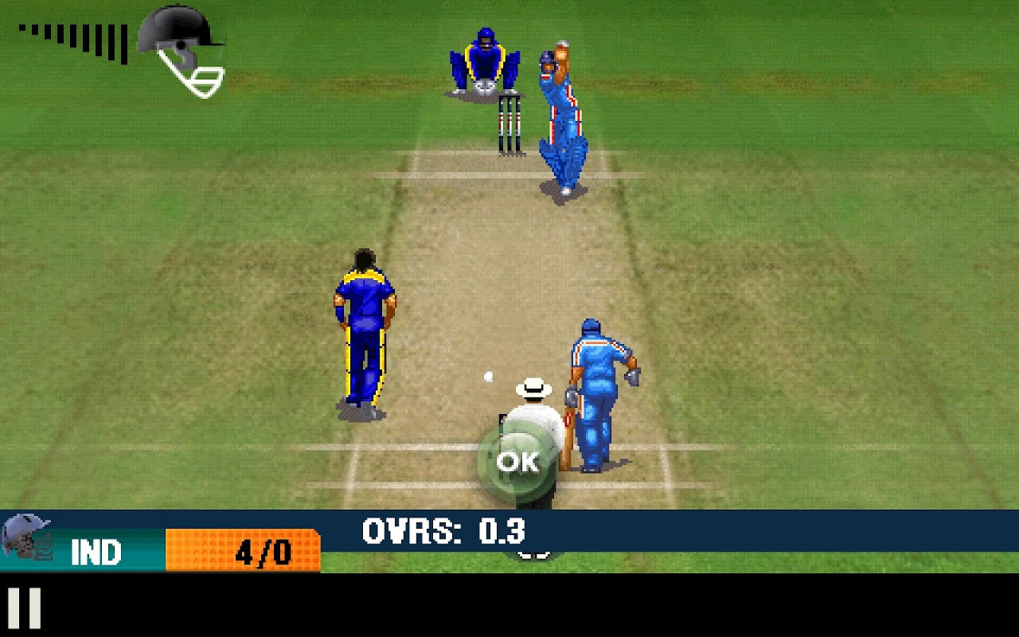 India vs Sri Lanka 2016 Game- screenshot