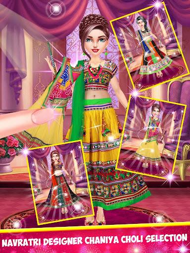 Indian Girl Wedding Makeup Game apkmind screenshots 2