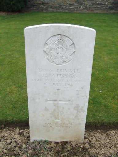 John Paterson grave
