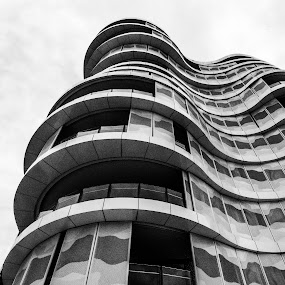 Sexy Curves by Jim Merchant - Buildings & Architecture Architectural Detail ( glass, beauty, architecture, steel, design, curves )