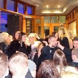 massive lineup at B5 bar in Reykjavik in Reykjavik, Hofuoborgarsvaeoi, Iceland