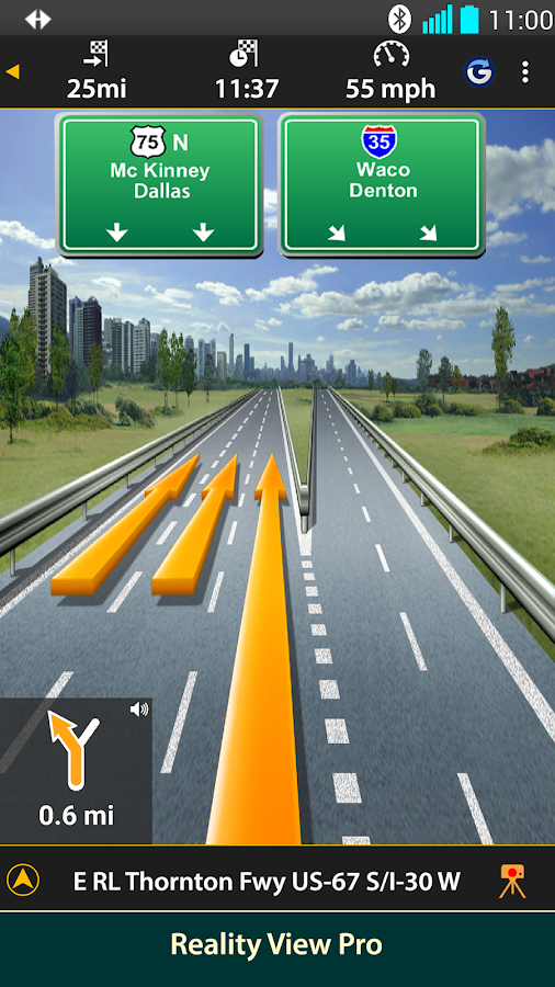 NAVIGON North America- screenshot