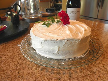 2 Layer Buttermilk Cake With Buttercream Frosting Recipe