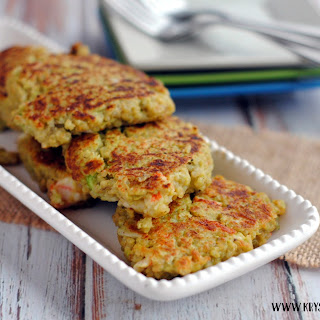 Quinoa and Avocado Crabcakes