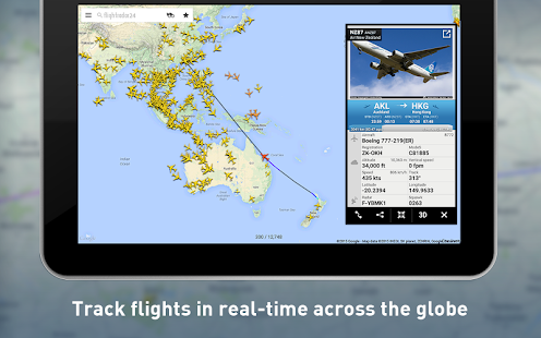 Flightradar24 - Flight Tracker Screenshot 7